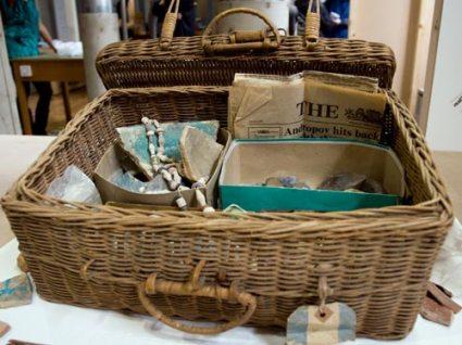 """Agatha Christie's picnic basket"""