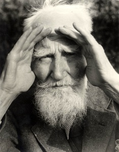 """""""The possibilities are numerous once we decide to act and not react."""" George Bernard Shaw"""