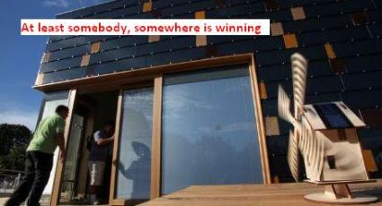 German team wins the Solar Decathlon. (Department of Energy photo)