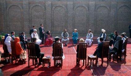 APTOPIX Pakistan Clinton